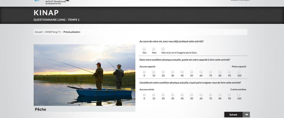 Exemple site Web KINAP