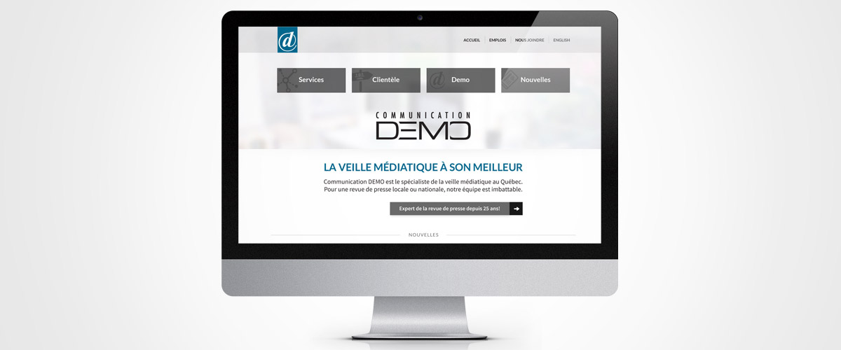 Exemple site Web DEMO