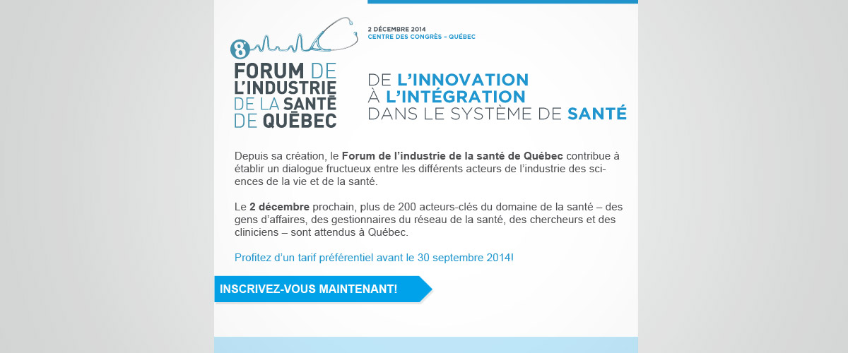 Réalisation infolettre Québec Internationale